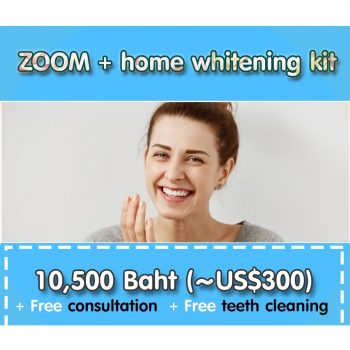 ZOOM + home whitening kit PS